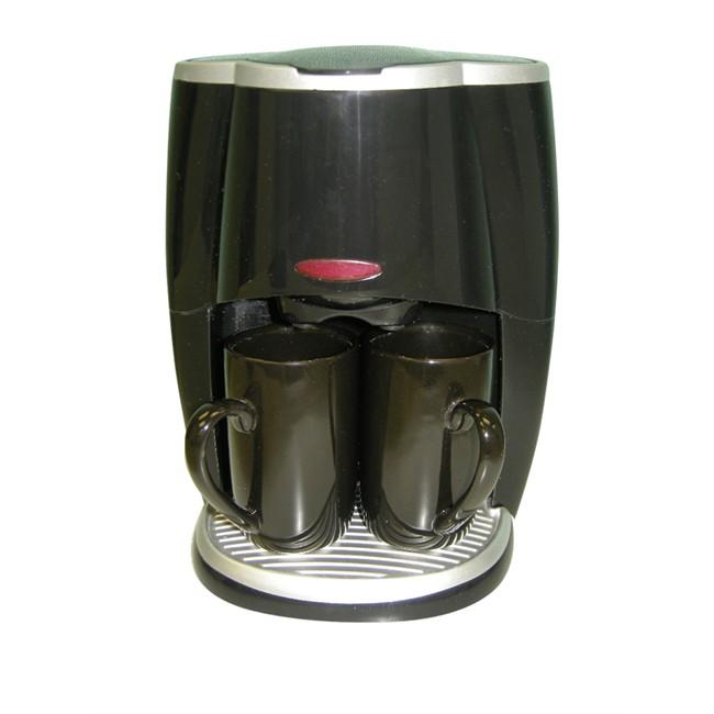 Cafetière 12 V Pour 5 Tasses + 2 Mugs Htc