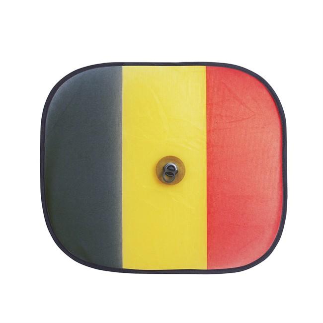 2 rideaux lat raux drapeau belgique 44x38cm. Black Bedroom Furniture Sets. Home Design Ideas