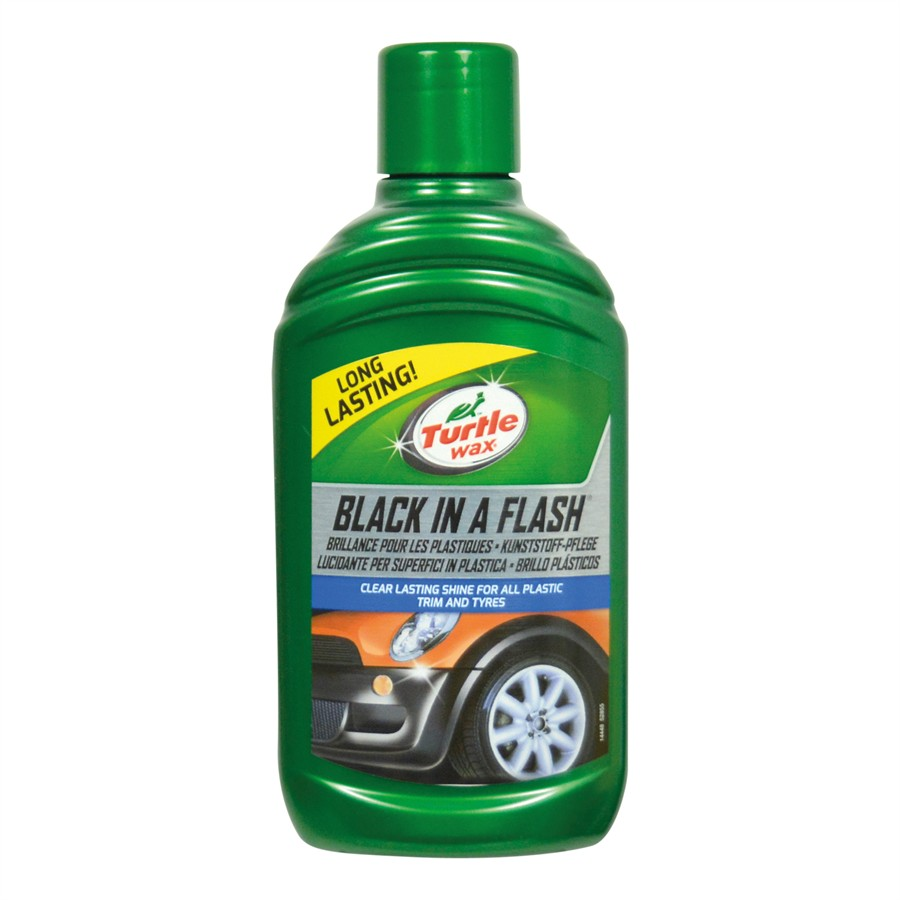 Turtle Wax 52855 GL Black in A Flash 300ml