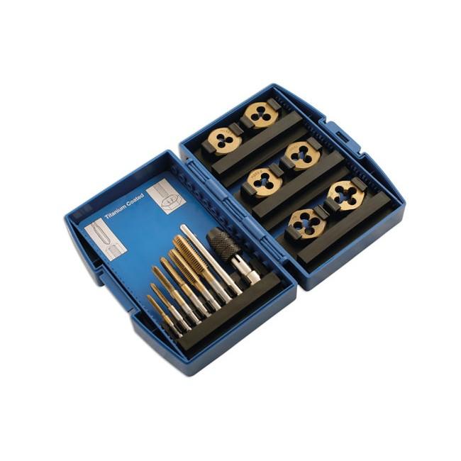 Coffret de tarauds et fili res laser 4026 - Tarauds et filieres ...