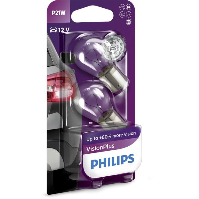 2 lampen philips p21 vision plus for Lampen philips