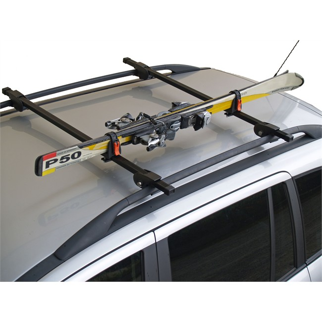 porte skis sur barres de toit menabo ski rack 423618 pour 1 paire de skis de fond. Black Bedroom Furniture Sets. Home Design Ideas