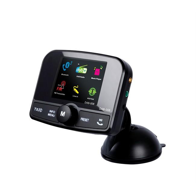Oppsiktsvekkende FM transmitter en DAB+ tuner NORAUTO : Auto5.be SD-08