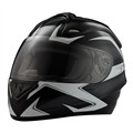 Integraalhelm I701 Trox Black RIDE XL