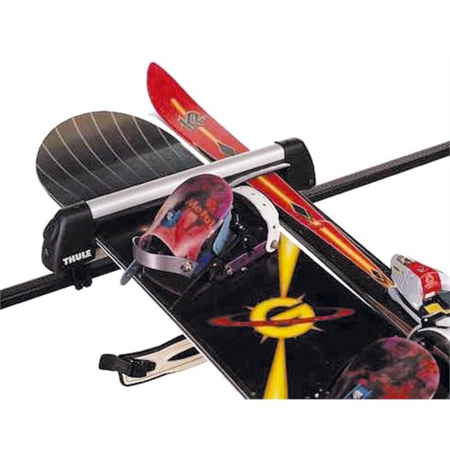 Porte-ski › Porte-skis pour barres de toit Porte-skis sur barres de toit  THULE DELUXE 726