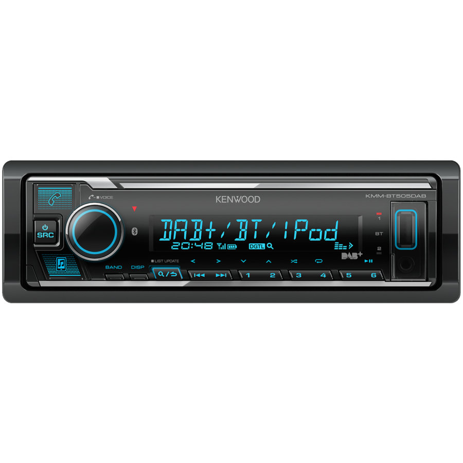 Autoradio KENWOOD KMM-BT505DAB