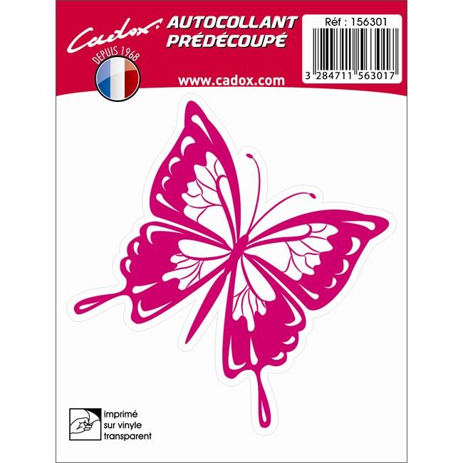 1 Sticker Autocollant Cadox Papillon
