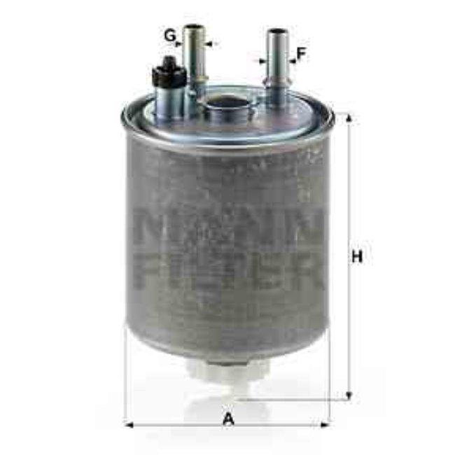 Filtre À Carburant Mann-filter Wk918/1